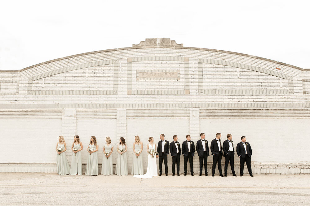 An Upbeat Contemporary Wedding | Caitlin + Cory | West Lafayette, Indiana