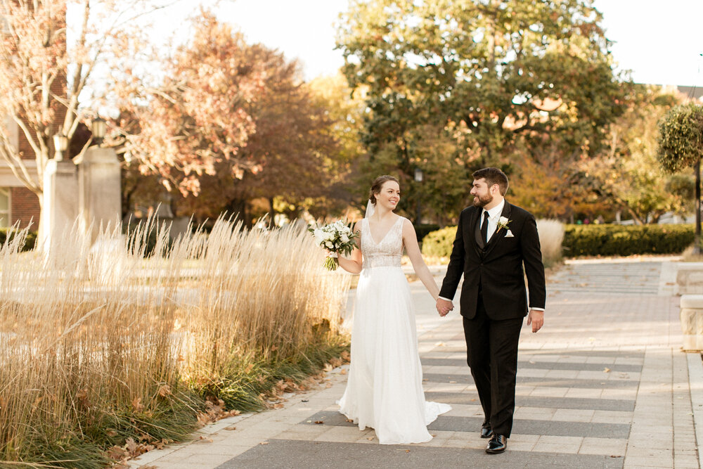 A Timeless Purdue November Wedding | Danielle + Nik | West Lafayette, IN