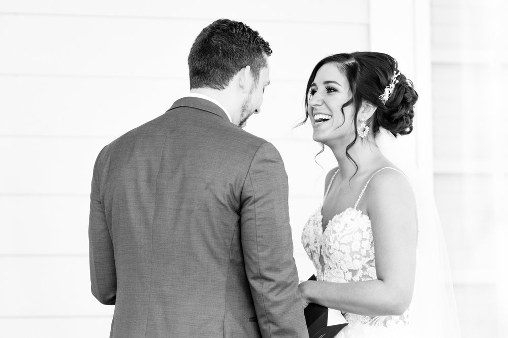 Carmel Indiana Ritz Charles Wedding Photographer First Look Pictures Indianapolis Bride Groom