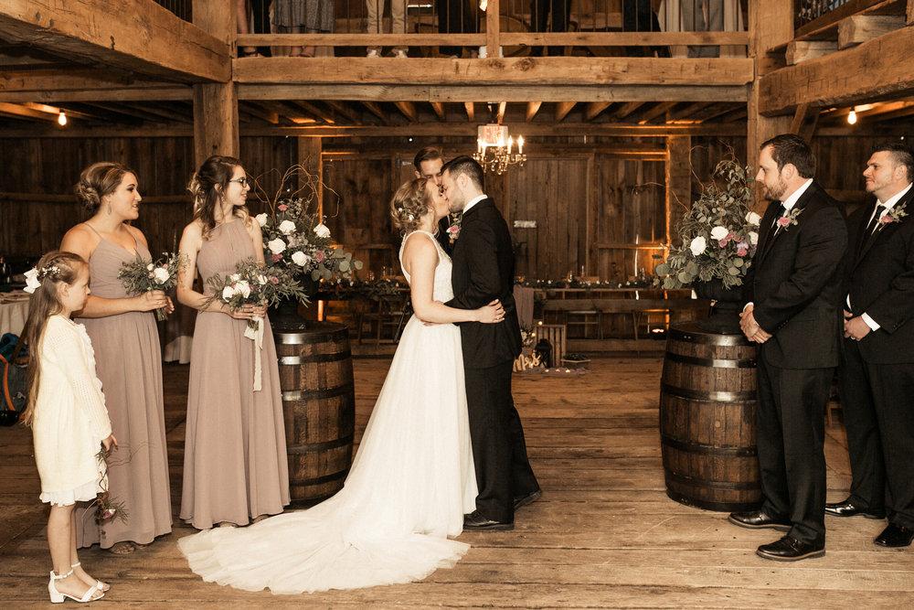 Vintage Oaks Banquet Barn Delphi Indiana Lafayette Purdue Wedding Photographer May Springtime Rustic Pictures
