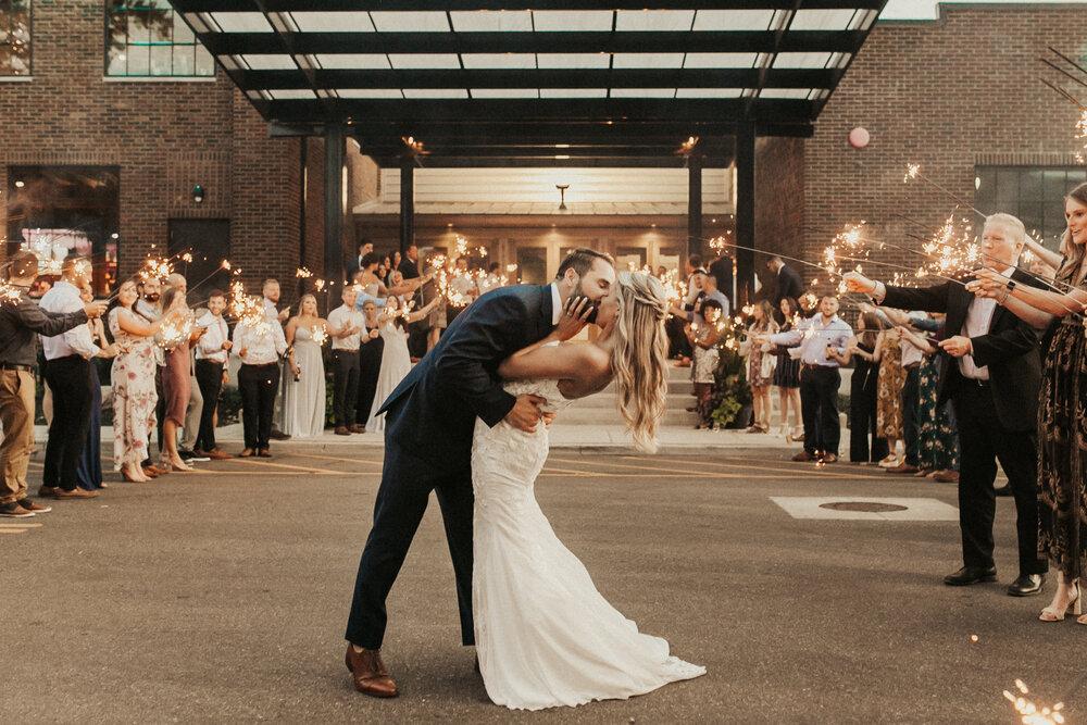 A Garment Factory Wedding | Lauren + Michael | Franklin, Indiana