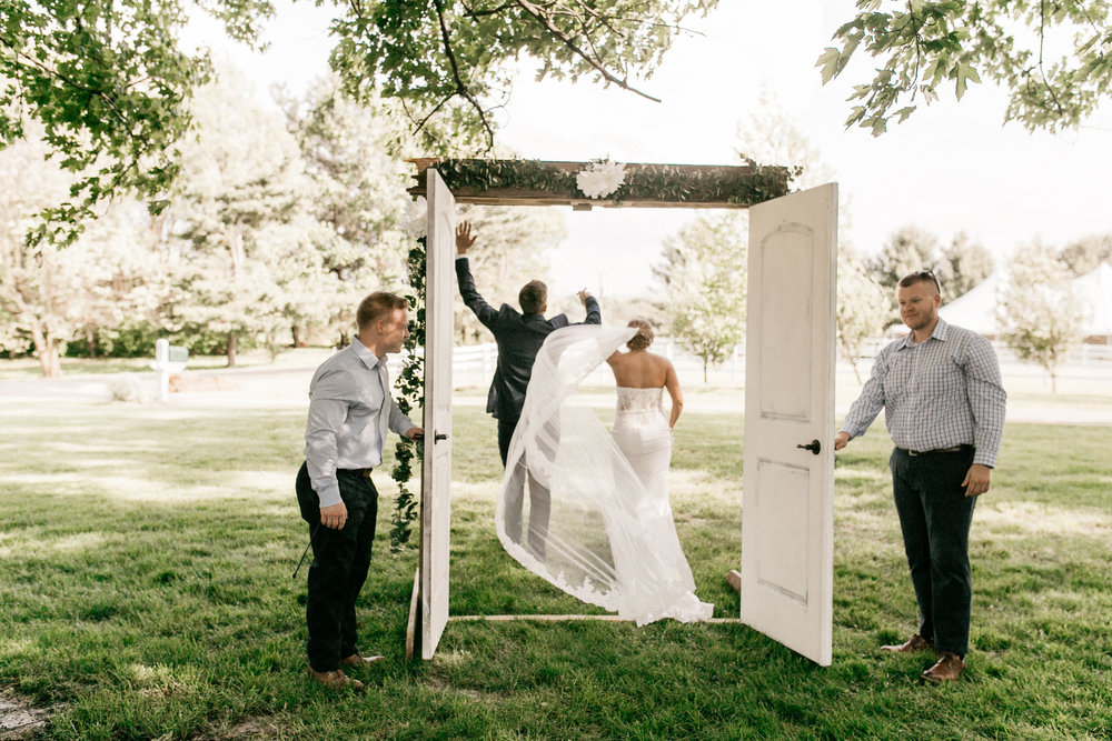 Spring Heritage Farm Events Wedding Photographer in Flora Indiana