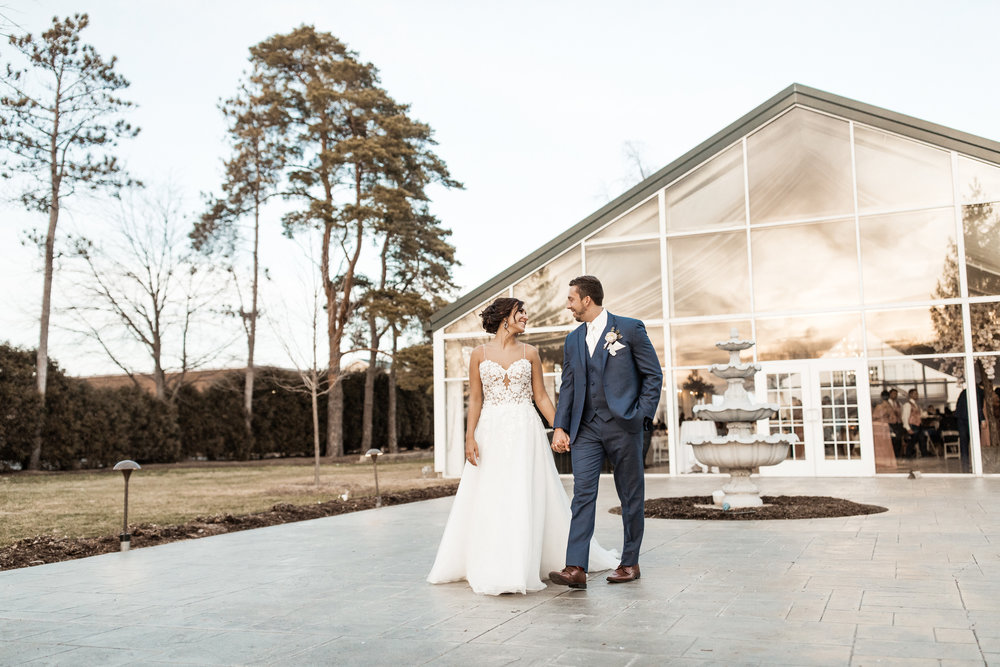 Carmel Indiana Ritz Charles Garden Pavilion Wedding Photographer Pictures Indianapolis Golden Hour