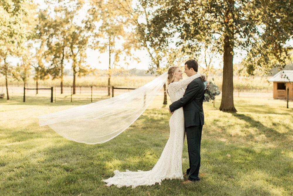 A Natural Rustic Wedding | Shelbi + Dillon | Delphi, Indiana