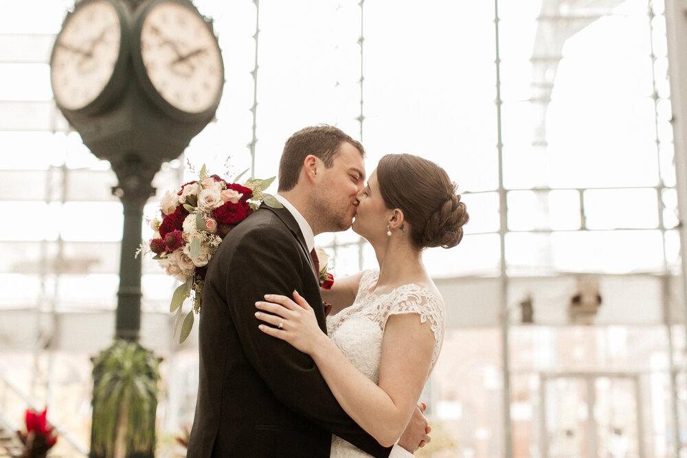 An Elegant Autumn Wedding | Jill + Aaron | South Bend, Indiana